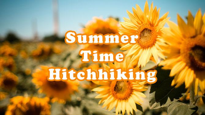 夏のヒッチハイクで備えておくべき5つのこと