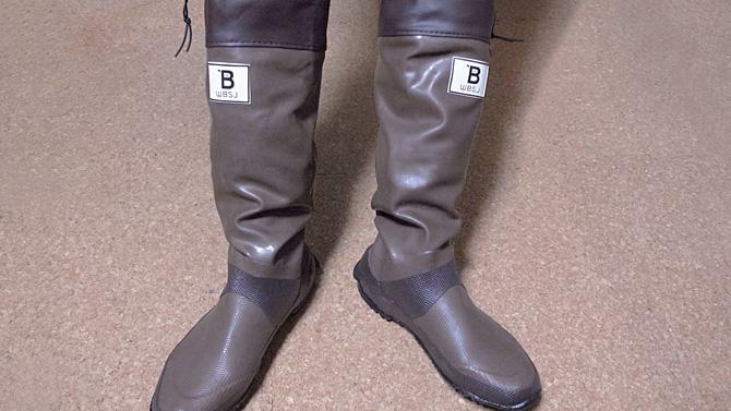 バードウオッチング長靴