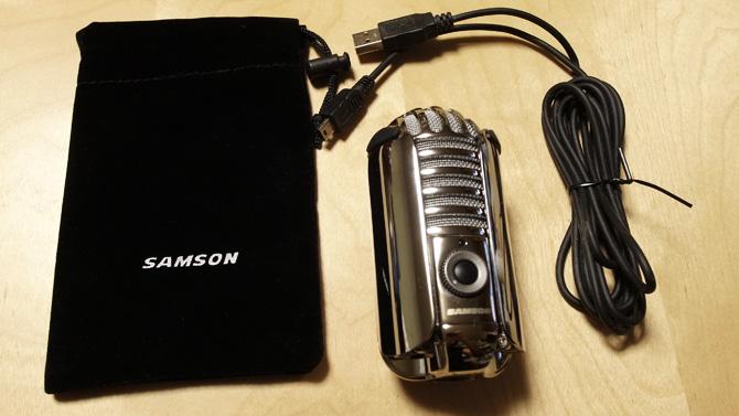 Samson Meteor Mic セット内容