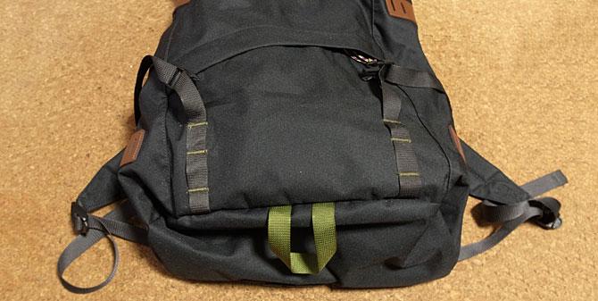 Arbor Pack 26Lフロントジッパーポケット