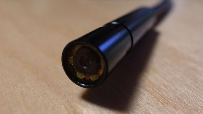 DBPOWER USB内視鏡カメラ部分