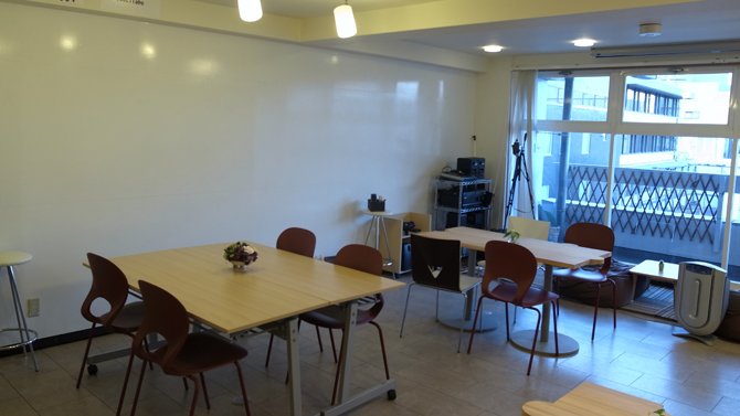 ソシラボ作業スペース