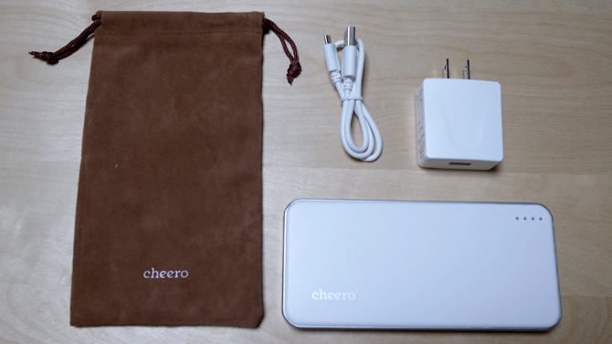 cheero Energy Plus 12000mAh