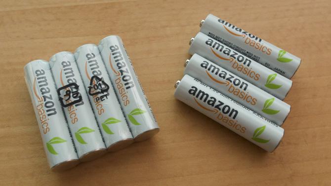 amazonベーシック battery