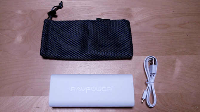 RAVPOWER モバイルバッテリーセット