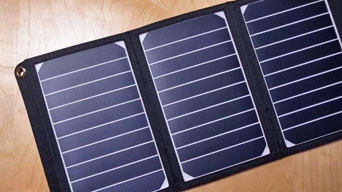 RAVPOWER ソーラーチャージャー16W ソーラーパネル