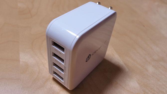 iClever 4ポートUSB急速充電器