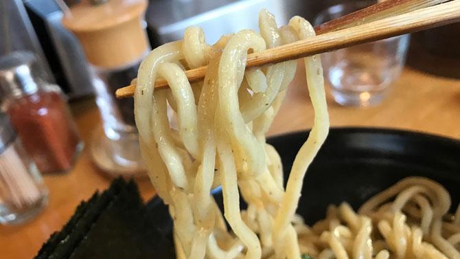 つけめんの麺