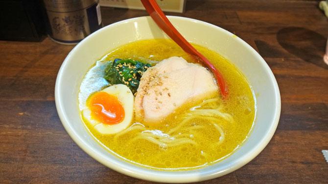 駿の鶏塩ラーメン