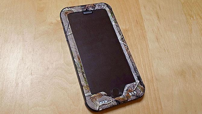 ZVE iPhoneケース 迷彩
