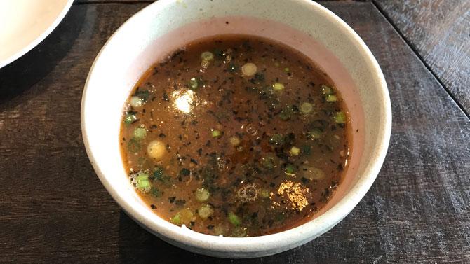 塩つけ麺スープ