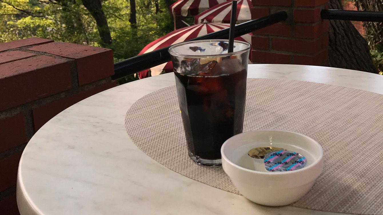 樹ガーデンのアイスコーヒー