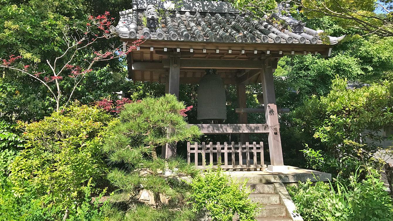 浄光明寺の鐘楼
