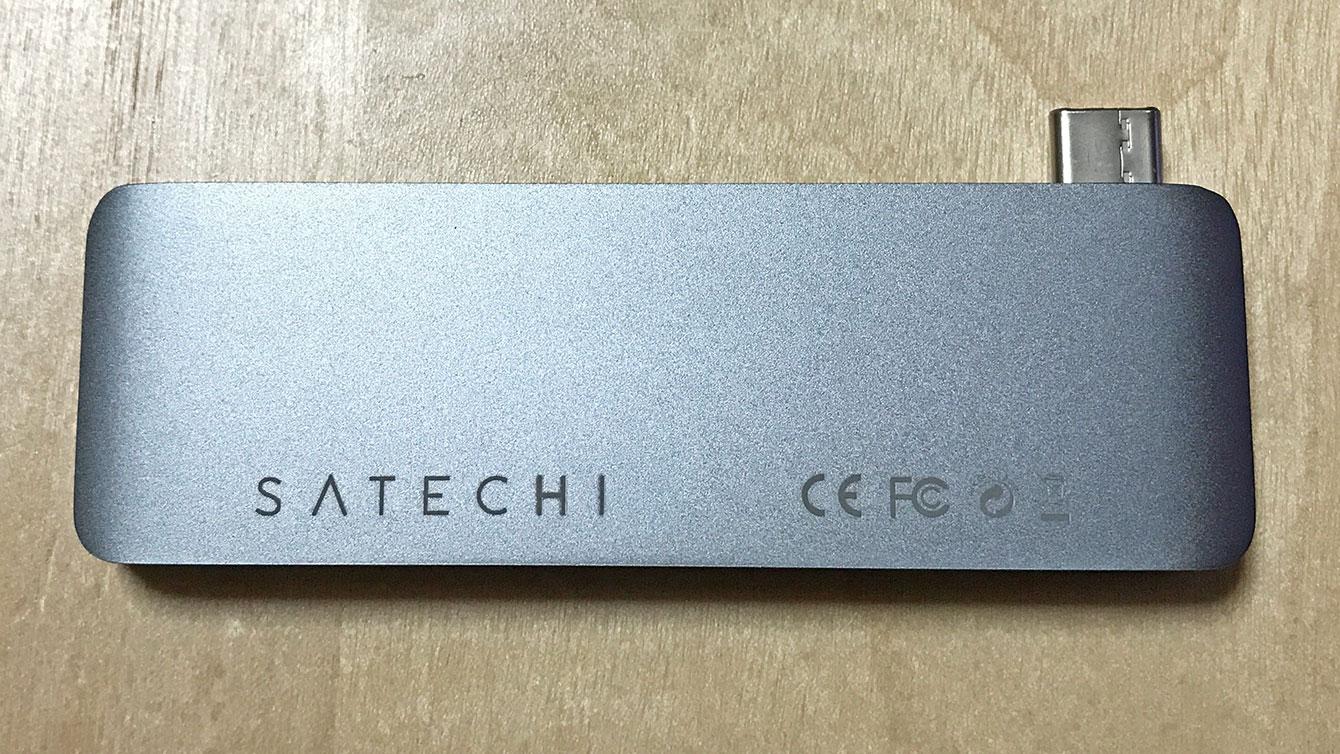 SATECHI Type-C Passthrough Hub裏面