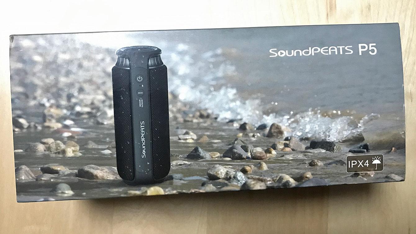 SoundPEATS P5パッケージ