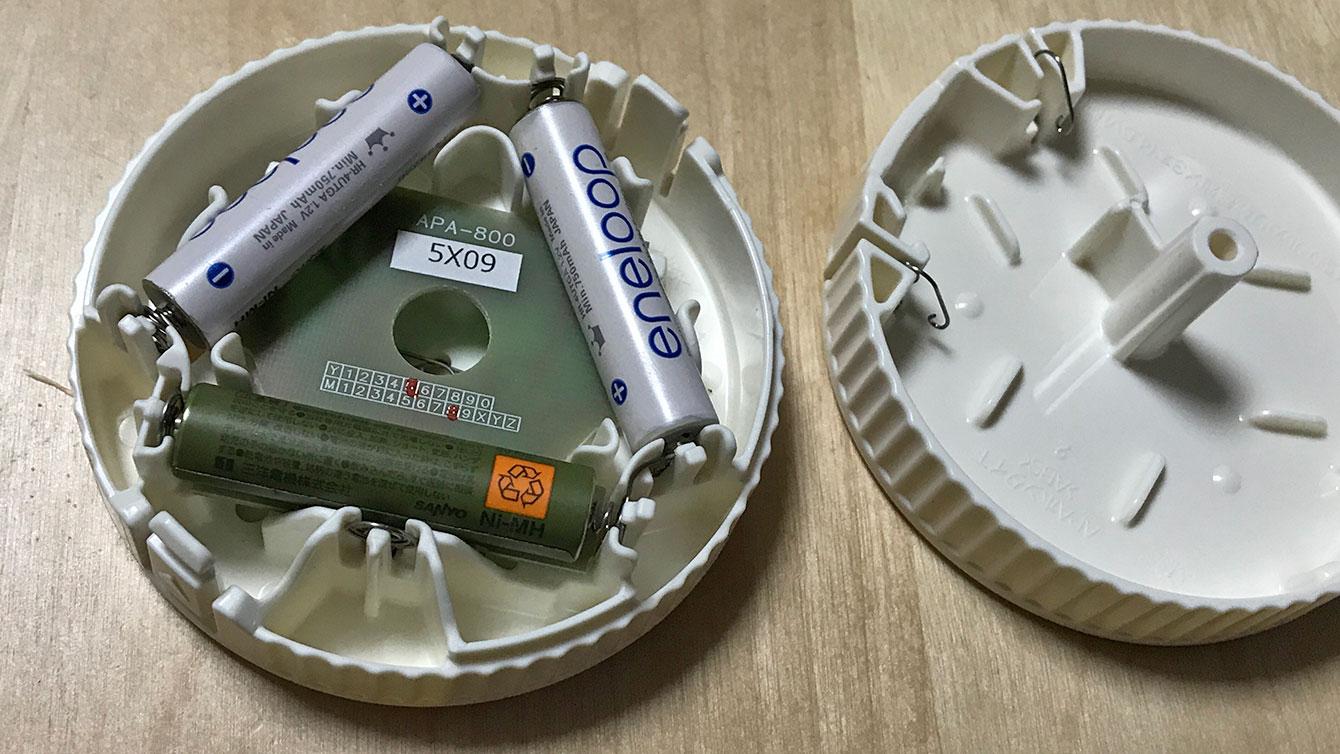 単4電池3本使用