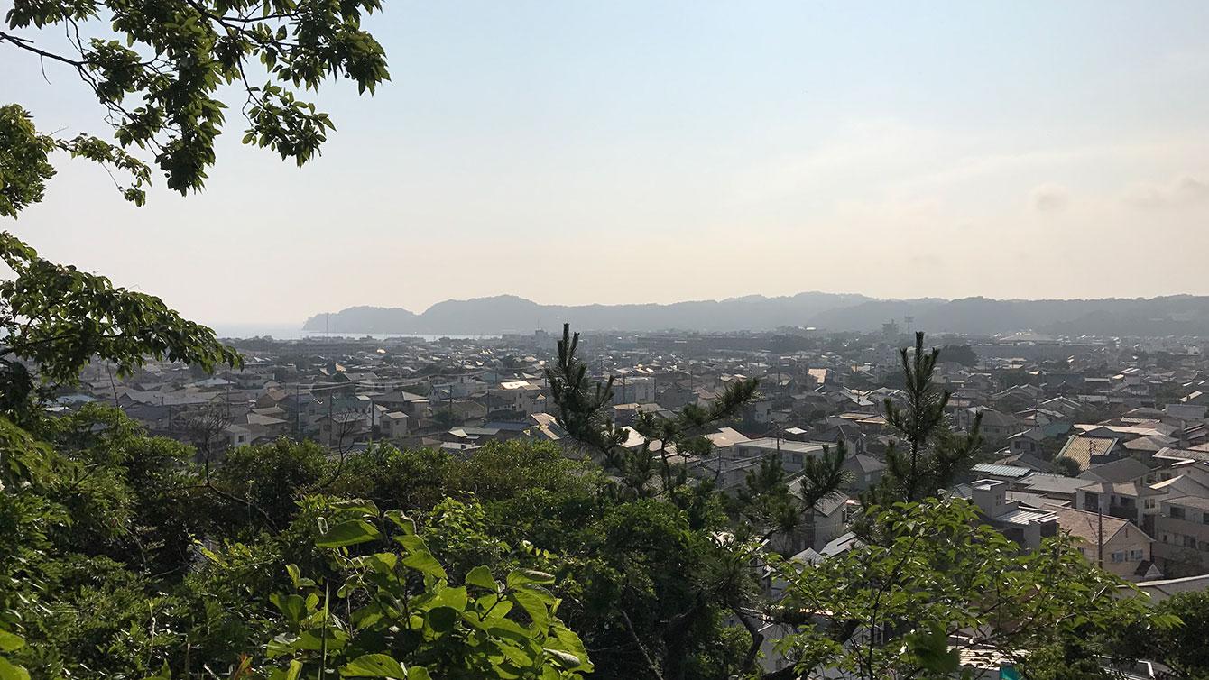 富士見台からの景色