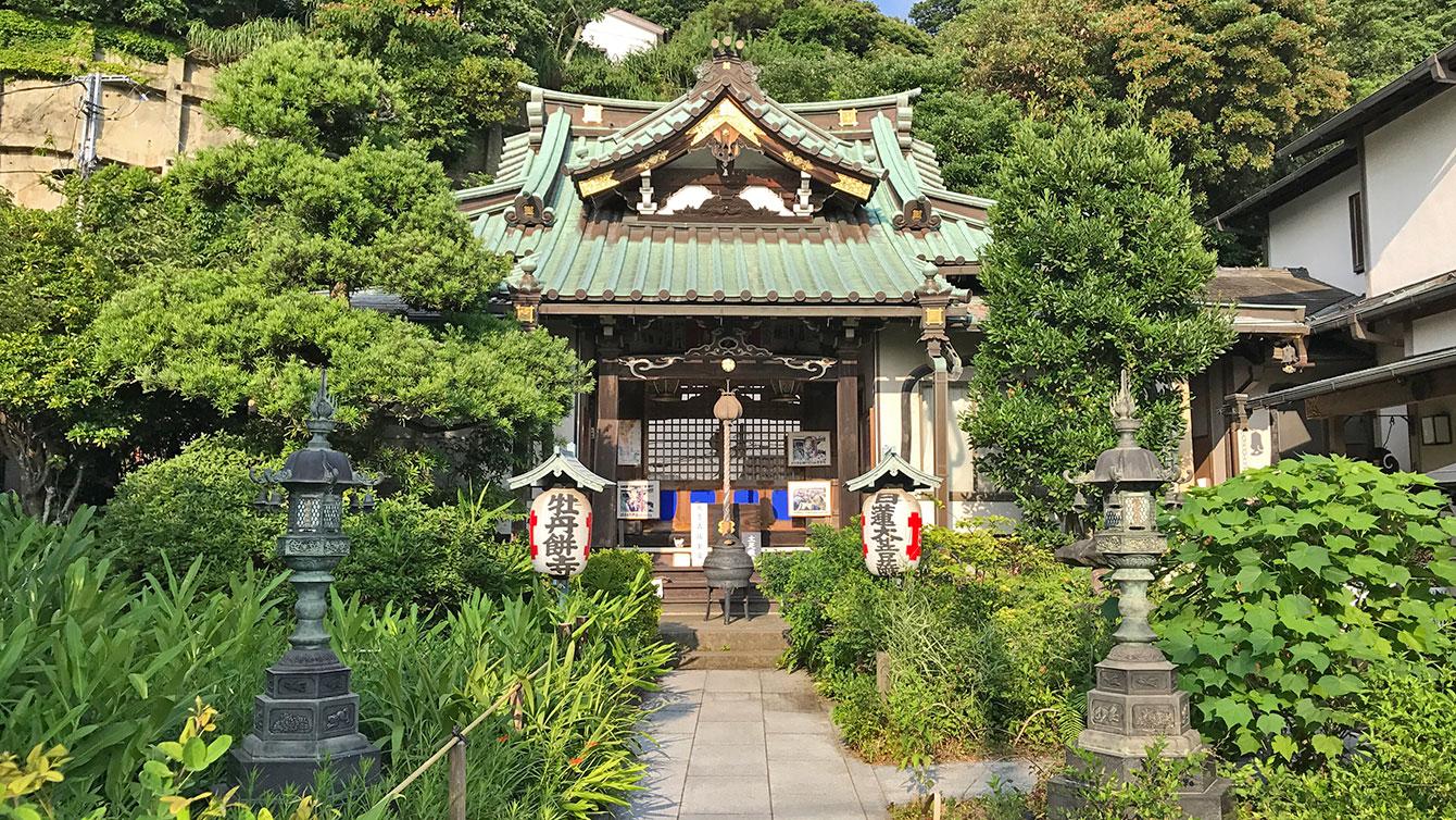常栄寺(ぼたもち寺)本堂