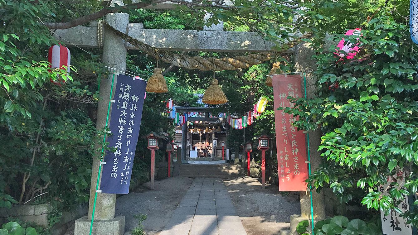 八雲神社の鳥居