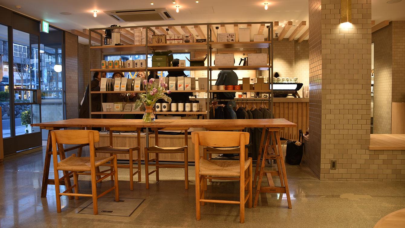 Verve Coffee店内